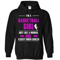Cool basketball girl - #animal hoodie #sudaderas sweatshirt. CHECK PRICE => https://www.sunfrog.com/LifeStyle/Cool-basketball-girl-6014-Black-7304423-Hoodie.html?68278