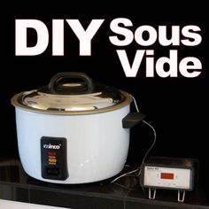 DIY Sous Vide Machines