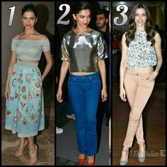 She is the definition of beauty  Choose Your Favourite Pic  1  2 Or 3!  Mine is 3 [#deepikapadukone #Deepika #Deepu #Piku #mastani #bolly #Bollywood ] by #BollywoodScope