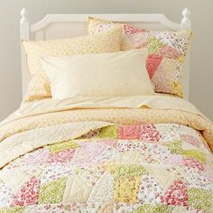 Puzzle Patch Girl's Bedding