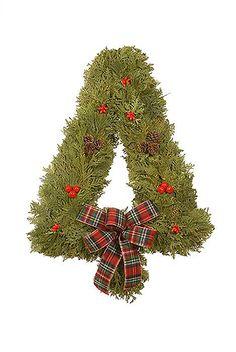xmas wreath idea