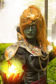 deviantART.com's Elle-Cosplay gives The Legend of Zelda a little twist with her amazing Lady Ganondorf cosplay. What do you think?