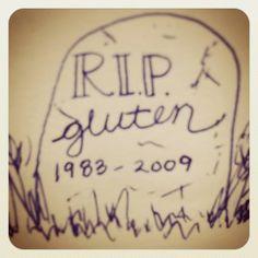See you later, jerk! #celiac  #glutenfree #gfree