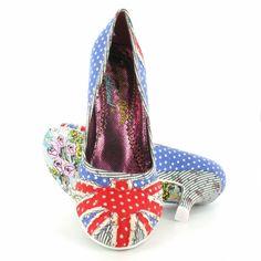 Irregular Choice polka dot heels