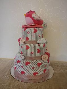 adis / Plienková torta pre dievčatko