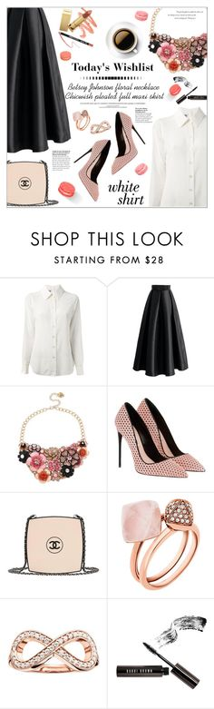 """Untitled #170"" by smaeri ❤ liked on Polyvore featuring Moschino, Chicwish, Betsey Johnson, Chanel, Ladurée, Michael Kors, Thomas Sabo, Bobbi Brown Cosmetics and Balenciaga"