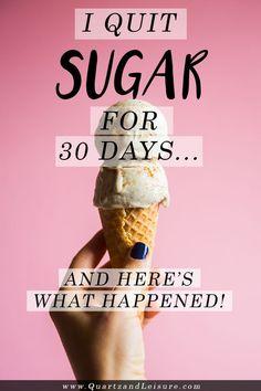 I Quit Sugar : An Update on My Sugar Detox Plan - Quartz & Leisure
