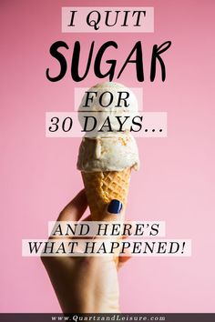 Do you constantly have cravings for something sweet? Well, I did too! But I cured my sugar addiction, quit sugar altogether, and haven't eaten the stuff for 30