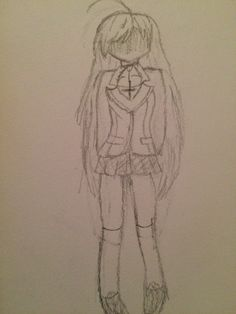 No face Moka by That one fangirl note I dont actually like Rosario vampire @2005clawdeen wanted me to draw her