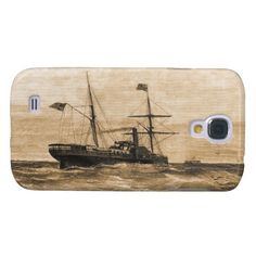 Star of the West - Sepia Galaxy S4 Cover