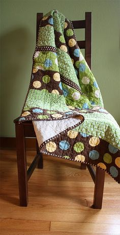 Simple quilt in great colors