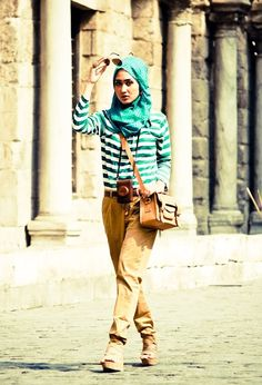 Hijab Outfits Ideas for Teenage Girls, Try This Style
