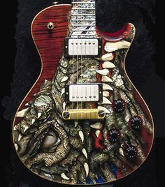 2003 PRS Dragon 2002 Singlecut #41 finished in Red (via Reverb)