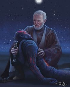 Darth Maul & Obi Wan Kenobi😮 Tag your Star Wars Friends! Star Wars Fan Art, Star Wars Klone, Star Wars Meme, Star Wars Facts, Star Wars Comics, Star Wars Trivia, Star Wars Rebels, Ewok, Chewbacca