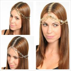 Fashion Head Chain in an assortment of shapes and colours #CatwalkFashion #Accessories #CatwalkAccessories #2013 #Spring #SpringFashion #Fashion #Colors #Colours #Brights #Neon #Darks #Classy #Sexy #Casual #Beauty #SmartCasual #Outfitoftheday #OOTD #PhotoOfTheDay #MakeUp #LooksforLess #Dress #Top #Ghutra #GhutraFashion #Hair #Model #Ladies #WomensFashion