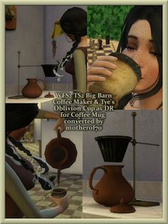 Simulacra Medium Aevum: WFS2 Coffee Maker & DR Oblivion Coffee Mug | Sims 4 Updates -♦- Sims Finds & Sims Must Haves -♦- Free Sims Downloads