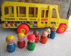 Seriously, how cool is this old school Fisher Price Little People toy!?! I remember playing with this toy at my grandma's house haha.