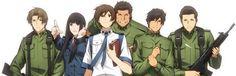 Library Wars, Toshokan Sensou: Main Characters