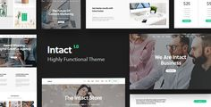 Buy Intact - Premium Multi-Purpose WordPress Theme by Key-Design on ThemeForest. Intact Theme Intact is a highly functional and resourceful WordPress theme uniquely designed to satisfy critical bus. Homepage Template, Theme Template, Wordpress Template, Website Template, Menu Templates, Theme Forest, Responsive Web, Ecommerce, Amazing Websites