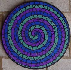 Tile Crafts, Mosaic Crafts, Mosaic Projects, Stained Glass Projects, Mirror Mosaic, Mosaic Wall Art, Mosaic Glass, Mosaic Birdbath, Mosaic Garden Art