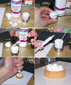 Como hacer nata para pasteles
