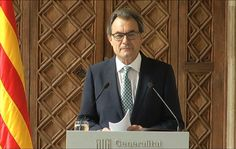 Catalan government keeps the consultation under new rules  - vilaweb.cat, 14.10.2014. The independence consultation vote will be carried out in Catalonia on November 9 but in different parameters than the ones fixed on December 2013. Catalan president Artur Mas explain it in a press conference this morning: 'Vote will not happen according to Law of Consultations and the decree I signed, obviously because the Spanish Government has suspended both'.