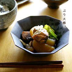十角小鉢(白:黒)2種 和食器通販【うつわギャラリー*チョイス】