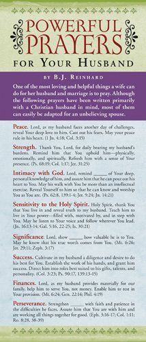 Powerful Prayers for Your Husband 50-pack