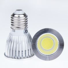 Lemonbest Energy Saving Epistar 9 Watts E27 COB LED Spotlight Bulb Downlight Lamp Flood 60 Degree 110V Cool White ** Want to know more, click on the image.