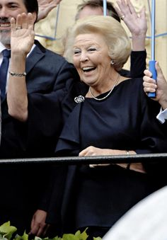 koninklijkhuis: Prinsjesdag 2015, September 15, 2015-Princess Beatrix watched the carriage procession