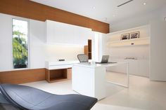 Great Office Space Miami Interior Design   Detailed Minimalism   Modern   Home  Office   Miami   DKOR Interiors Inc.