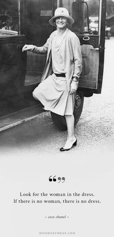 More Timeless Dresses with hems to just below the knee. Fashion is Fickle but Classic Style is Forever. Coco Chanel via @WhoWhatWear