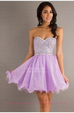 Purple Homecoming Dress???