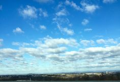 I love blue skies
