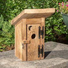 The Outhouse Birdhouse, Accesorios de jardín - Lehman's Wooden Bird Houses, Bird Houses Diy, Bird House Plans, Bird House Kits, Bird House Feeder, Bird Feeders, Diy Wood Projects, Wood Crafts, Dremel Projects