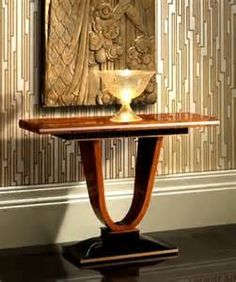 Art Deco entry table