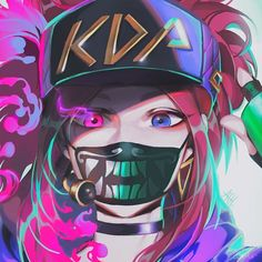 League of Legends Hack 2020 Akali League Of Legends, League Of Legends Characters, Lol League Of Legends, Akali Lol, Character Art, Character Design, Dark Anime, Beautiful Anime Girl, Anime Art Girl