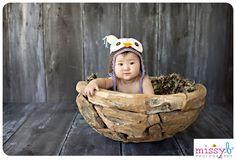 Missy B Photography: Baby M ~ 6 Months   Missy B Photography   Walnut Creek Newborn Photographer  Owl photo