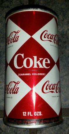 Vintage Coca Cola Coke Diamond Can