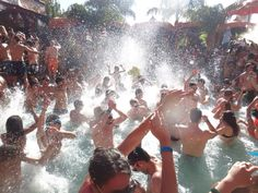 Las Vegas pool party craziness, taken by myself :)