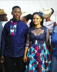 2018 Beautiful Ankara Styles For Young Couples - Earth Lex African Wedding Attire, African Attire, African Wear, African Women, African Print Dresses, African Fashion Dresses, African Dress, Ankara Fashion, African Prints