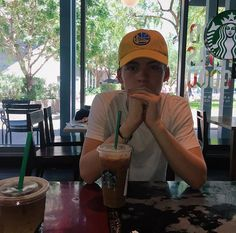 Starbucks date (not really, just getting out of the heat) New Hope Club, A New Hope, I Have A Crush, Having A Crush, Blake Richardson, Reece Bibby, Step Brothers, Poses For Men, Corbyn Besson