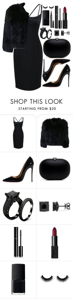 """Untitled #3309"" by natalyasidunova ❤ liked on Polyvore featuring mode, Marc Jacobs, H Brand, Christian Louboutin, Chanel et NARS Cosmetics"