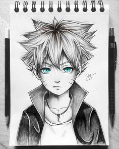 boruto Otaku Anime, Anime Naruto, Fan Art Naruto, Naruto Shippuden Anime, Manga Anime, Naruto Sketch Drawing, Naruto Drawings, Anime Sketch, Bff Drawings