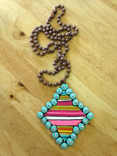 Sookie Sookie: Lanna Luxe (Patterned) Necklaces - The Lace Cactus