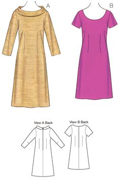 K3704 | Dresses | Special Occasions | Kwik Sew Patterns