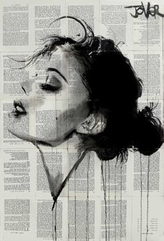"Saatchi Art Artist Loui Jover; Drawing, ""ever"""