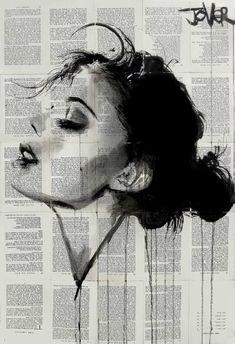 "Saatchi Art Artist Loui Jover; Drawing, ""ever"" #art"