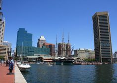 Things to do in Inner Harbor: Baltimore, MD Travel Guide by Baltimore Inner Harbor, Baltimore City, Baltimore Maryland, Baltimore Neighborhoods, Great Places, Beautiful Places, Vacation Pictures, Travel And Leisure, Best Vacations
