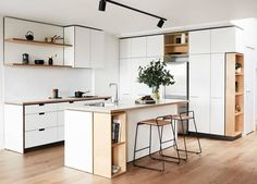 Fantastic living kitchen room are available on our internet site. Read more and you wont be sorry you did. Hacienda Kitchen, Farmhouse Style Kitchen, Modern Farmhouse Kitchens, Home Kitchens, Kitchen Rustic, Wooden Kitchen, Kitchen Interior, New Kitchen, Kitchen Decor
